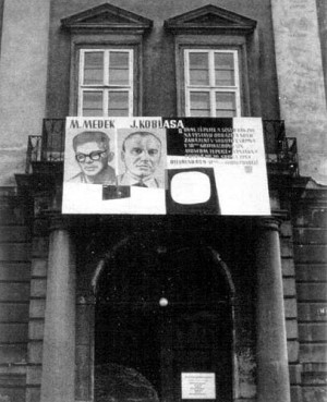 Exhibition in Teplice, 1973